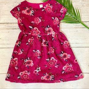 Gymboree Dress Girls Size 10 Pink Floral